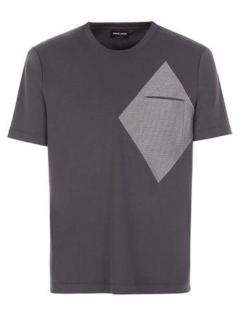 Camiseta-Bolso-Cinza