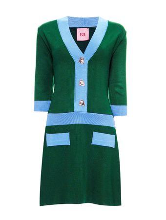 Vestido-Celeste-Verde