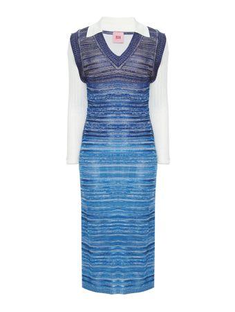 Vestido-Collet-Azul