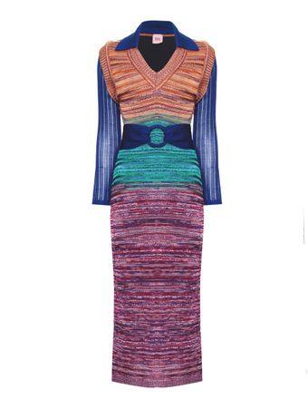 Vestido-Collet-Laranja