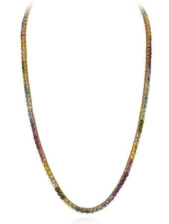 Gargantilha-Riviera-de-40-cm-em-ouro-amarelo-18k-com-turmalinas-rosa-ametistas-topazios-peridotos-tanzanitas