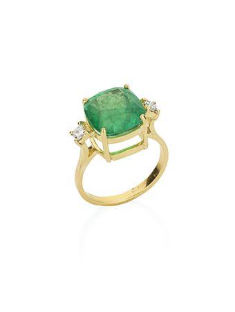 Anel-em-ouro-amarelo-18k-com-esmeralda-e-diamantes
