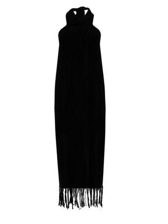 CISNE-BLACK-VESTIDO-LONGO-LONG-DRESS-BLACK