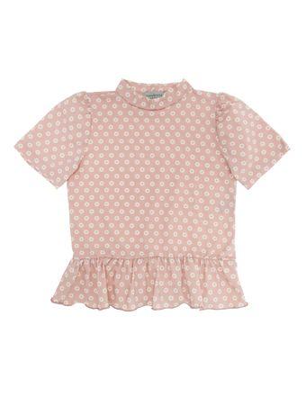 Camiseta-Margaridas-Rose