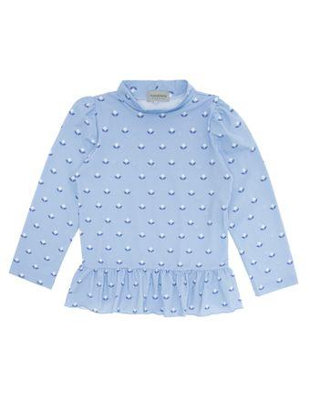 Camiseta-Tulipa-Azul
