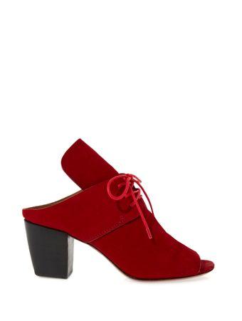 Sapato-Tie-Couro-Vermelho