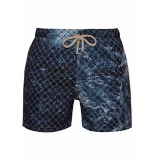 Shorts-Regular-Rede-Azul