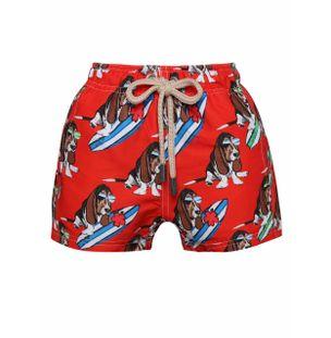 Shorts-Kids-Cachorro-Vermelho