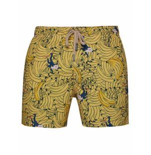 Shorts-Regular-Macaco-com-Banana-Verde