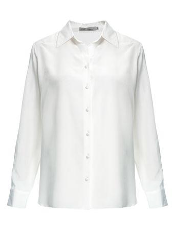 Camisa-Classica-de-Seda-Branco
