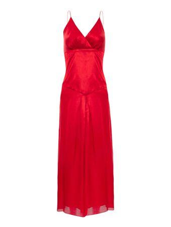 Vestido-Midi-de-Modal-Vermelho