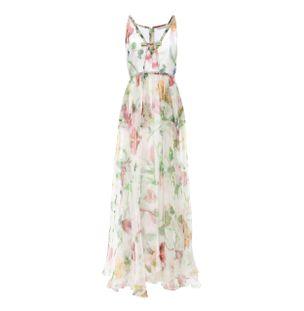 Vestido-Longo-Organza-de-Seda-Floral-Branco