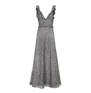 Vestido-Longo-Cinza