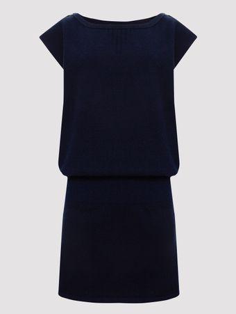 Vestido-de-Cashmere-Azul-40-FR