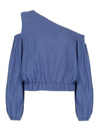 Bata-Ombro-Vazado-de-Linho-Azul-Marinho