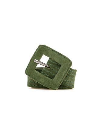 Cinto-Basic-Fino-de-Couro-Verde