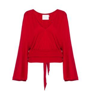 Blusa-Cropped-Faixa-Vermelho