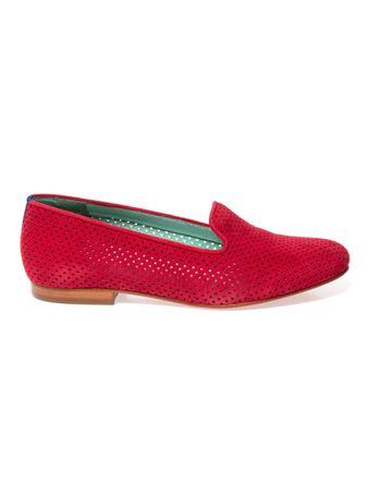 Loafer-Saudade-de-Camurca-Vermelho