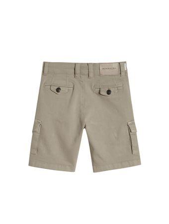 Bermuda-Jeans-Bege