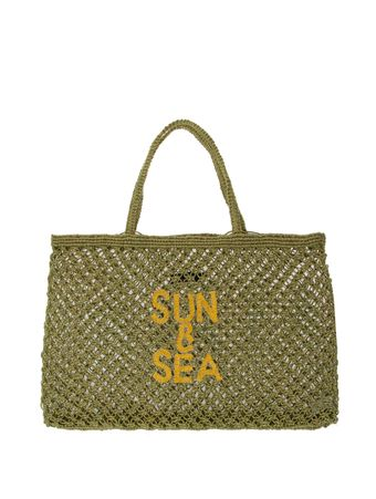Bolsa-Sacola-Macrame-Sun---Sea-Verde