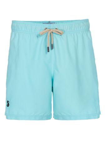 Shorts-Regular-Liso-Azul-Marinho