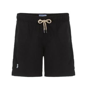 Shorts-Regular-Liso-Preto