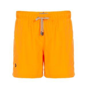 Shorts-Regular-Liso-Laranja