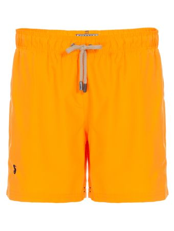 Shorts-Regular-Liso-Laranja