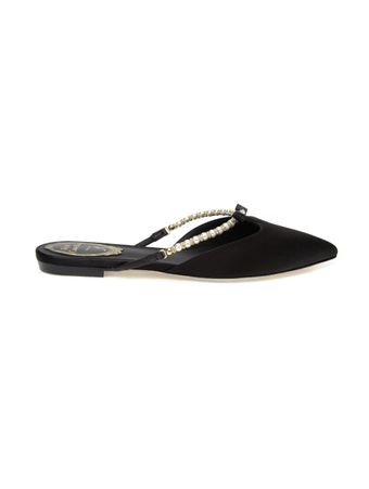 SLIPPER-BLACK-SATINPEARLS-SLIPPER
