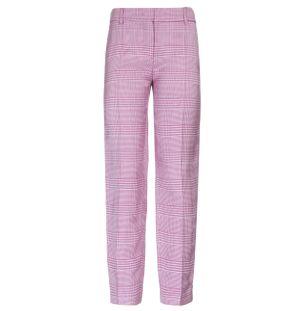 Calca-Capri-Trousers-Xadrez-Rosa