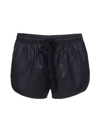 Shorts-Oil-Finish-Preto