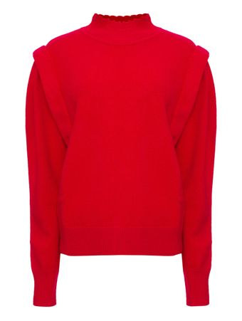 PU1649-21A055E70RD-SUETER-PULL-RED