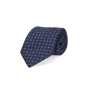 Gravata-Poas-de-Seda-Azul