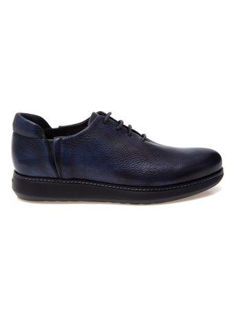 Sapato-Social-de-Couro-Azul-e-Preto