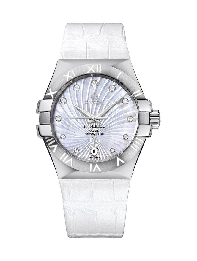 Relogio-Constellation-Automatico-CoAxial-Chronometer-35mm-Branco
