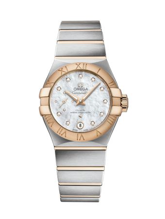 Relogio-Constellation-Automatico-CoAxial-Master-Chronometer-27mm-Branco