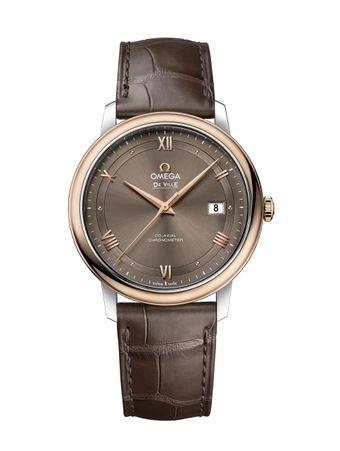 Relogio-De-Ville-Prestige-Automatico-CoAxial-Chronometer-395mm-Castanho