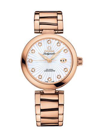Relogio-De-Ville-Ladymatic-Automatico-CoAxial-Chronometer-34mm-Branco