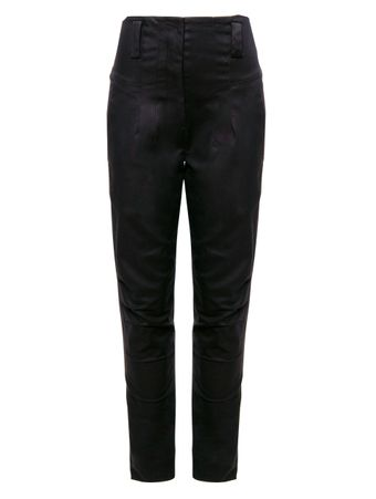 CALCA-SKINNY-ALTA-COTTON-DOUBLE-LAYER-PRETO
