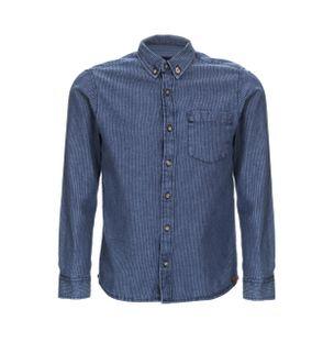 Camisa-Jeans-Boys-de-Algodao-Listrada-Azul-Indigo