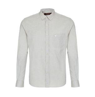 Camisa-Oxford-de-Algodao-Caqui