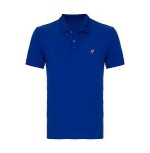 Camisa-Polo-Lhama-Stretch-de-Algodao-Azul-Royal