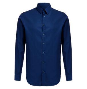 Camisa-de-Algodao-Azul-Marinho
