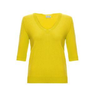Blusa-Trico-Basica-Amarela