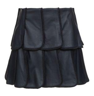 Shorts-Saia-Petalas-Nero