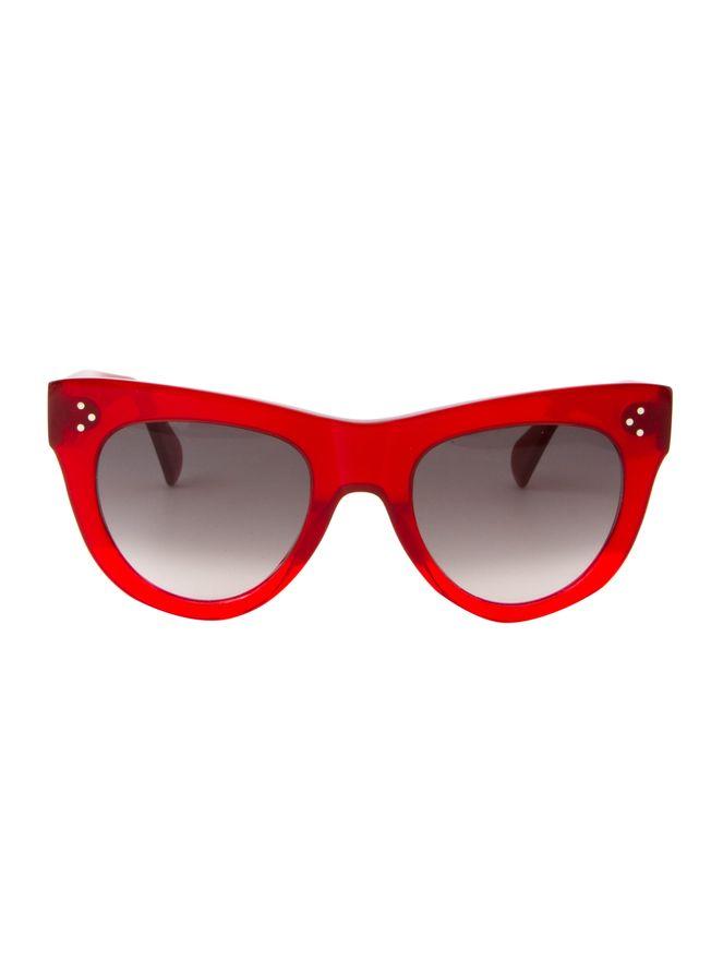 4fd33c2be2b4c Óculos de Sol Celine 40016I Vermelho - Shopping Cidade Jardim