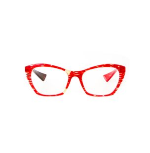 Armacao-de-Oculos-Piero-Massaro-496-Estampado-Vermelho-e-Marrom-Mesclado
