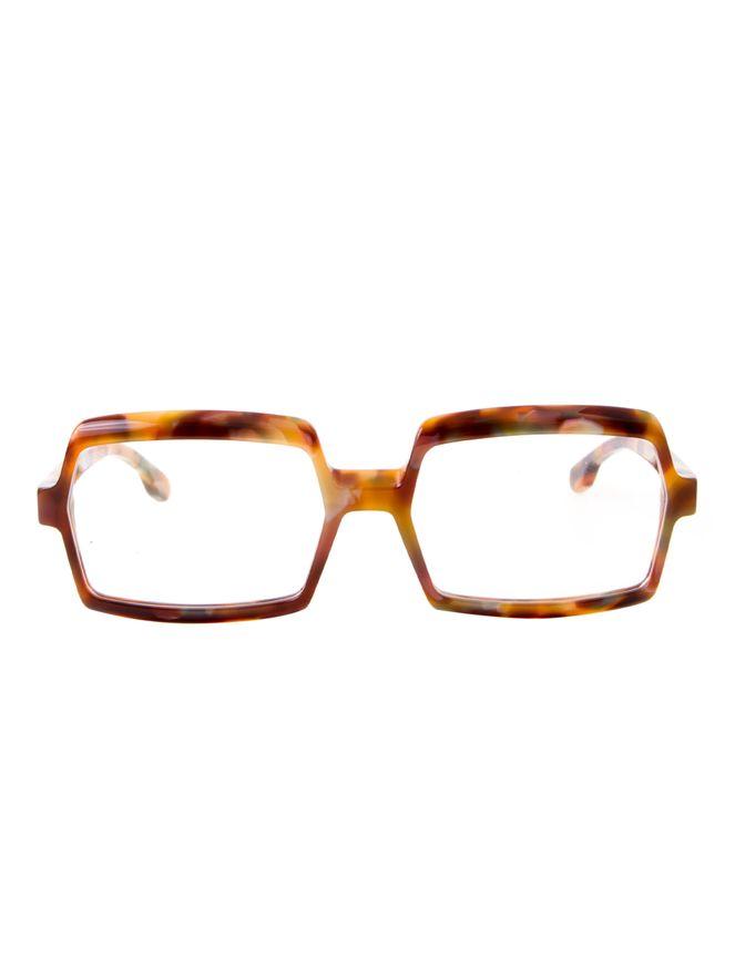 Armacao-de-Oculos-Michel-Henau-Telex-Estampado-Marrom