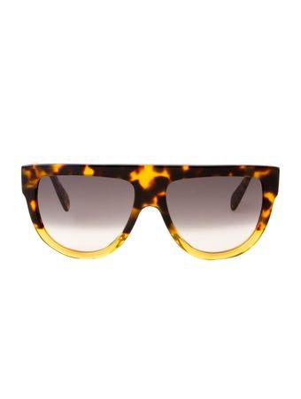 Oculos-de-Sol-Celine-40001I-Estampado-Marrom