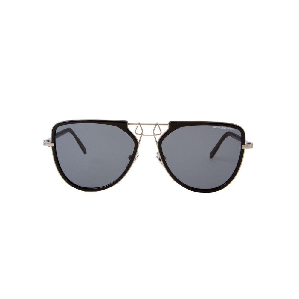 Óculos de Sol Calvin Klein 1874S Preto e Cinza - Shopping Cidade Jardim 40f24b8252